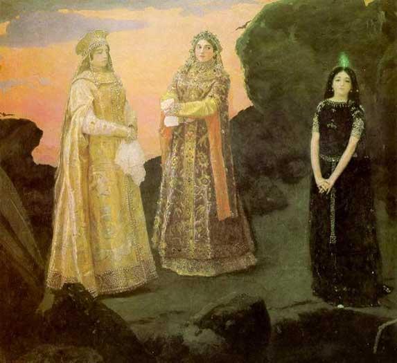 Три царицы подземного царства мультфильм