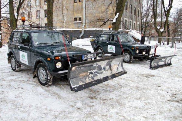 Как сделать лопату для снега на ниву