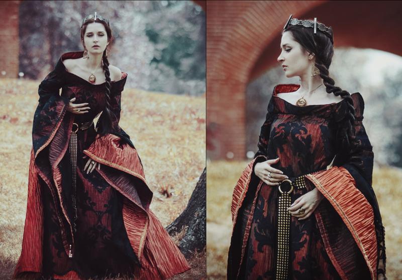 Средневековые Платья Картинки