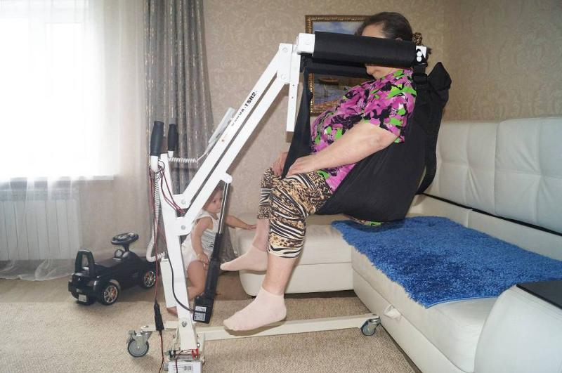Подъемник лежачих больных своими руками 463