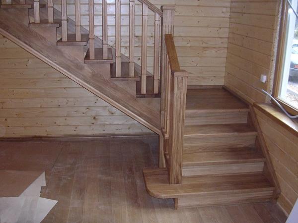 Деревянная лестница на второй этаж своими руками на ютубе