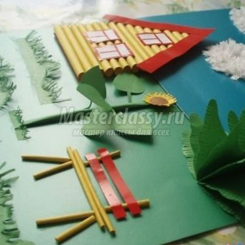 Детские поделки своими руками из бумаги объемные