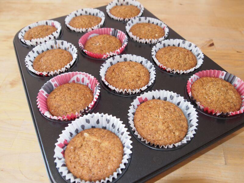 Рецепт кексов с изюмом в бумажных формочках пошагово в