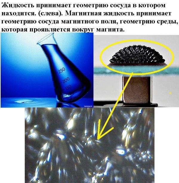 Ферромагнитная жидкость своими руками