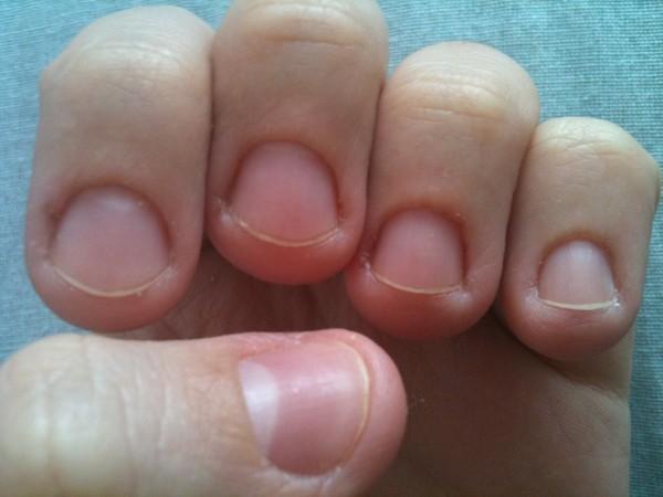 Как сделать нормальную форму ногтей 194