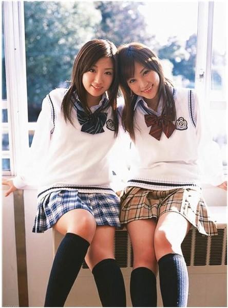 девушки одетые как школьницы