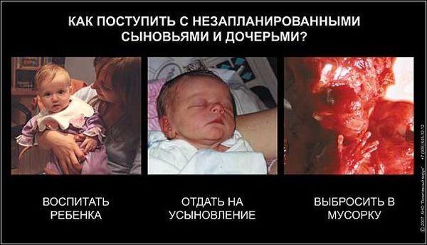 Как сорвать беременности