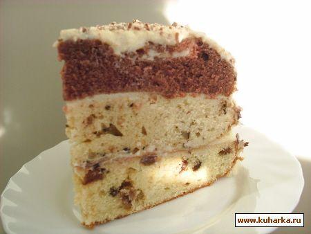 Рецепт торта генерал с фото