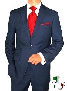 синие брюки красный галстук
