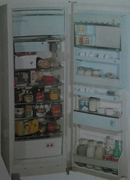 Что обычно лежало в советском холодильнике?