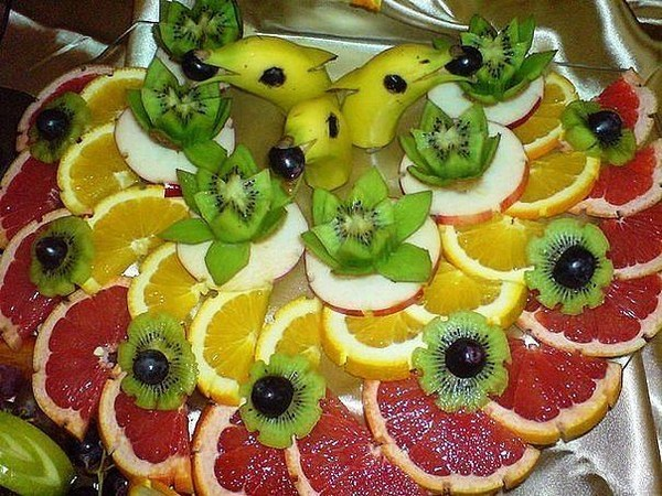 Нарезка фруктов на детский праздник детский праздник на день рождения заказать