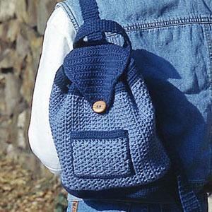 ответы Mailru как связать рюкзак крючком нашла в интернете пару