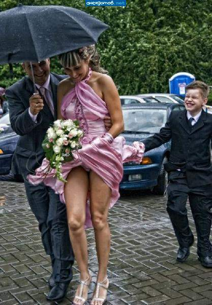 фото невест под юбкою