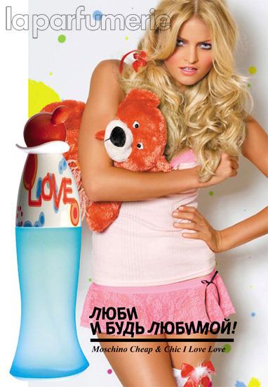 Реклама духов москино купить женский стеганый плащ