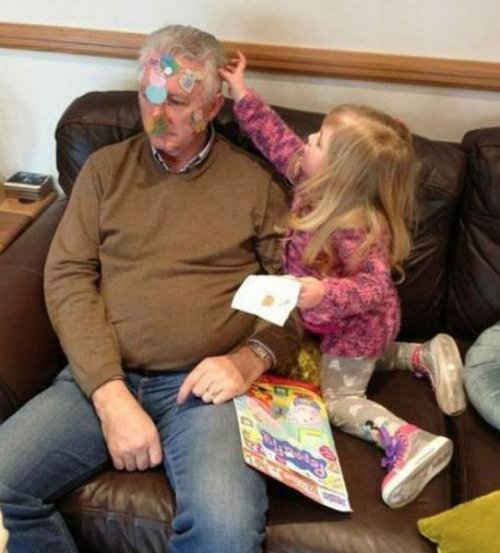 как дедушки дрючат внучек