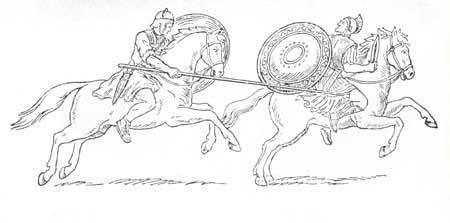 Куликовская битва рисунок карандашом