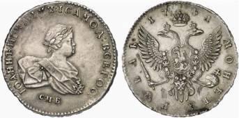 Монета 1741 иоанн 3 роспочта отследить посылку по номеру