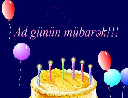 с днем рождения картинки на азербайджанском языке