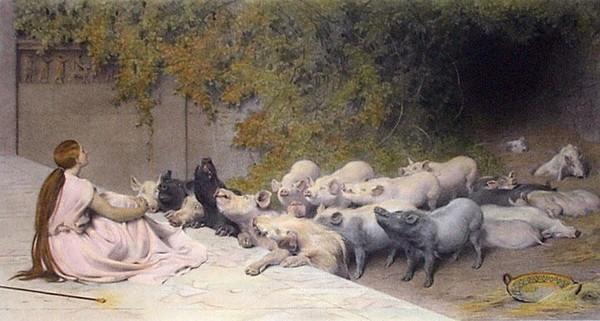 Пастушка с большой грудью интимные