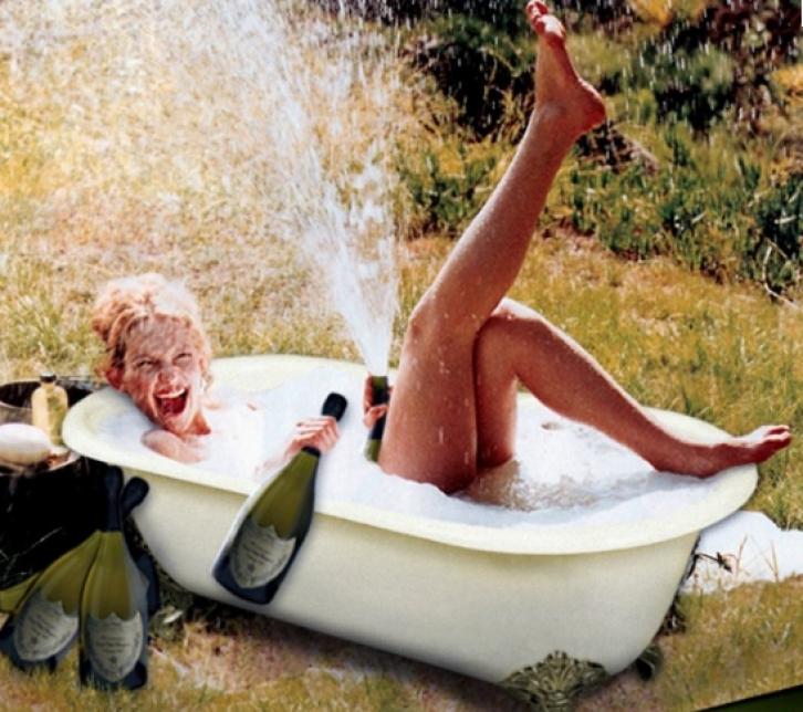 Баба в ванной смешная картинка, картинки новогодние праздники