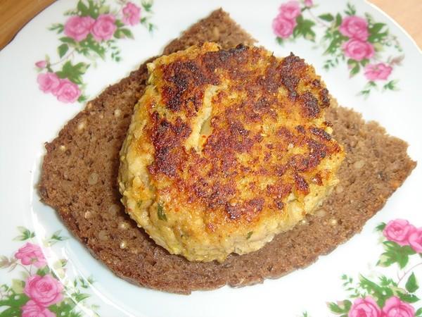 Котлеты черным хлебом рецепт фото