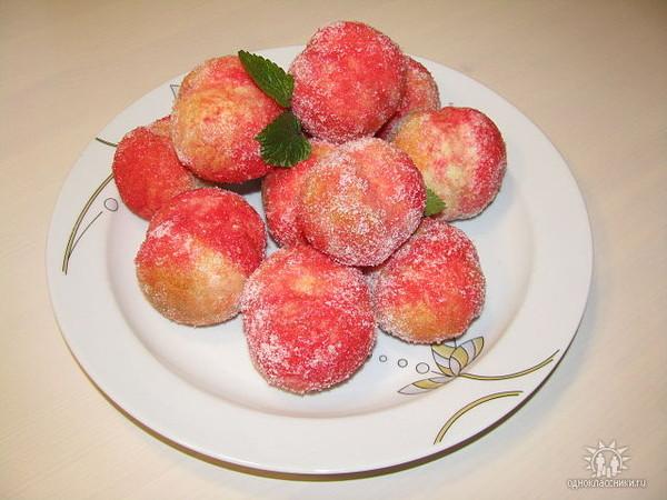 персики со сгущенкой рецепт с фото