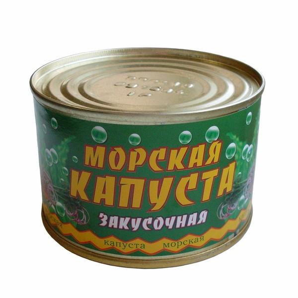 морская капуста консервы
