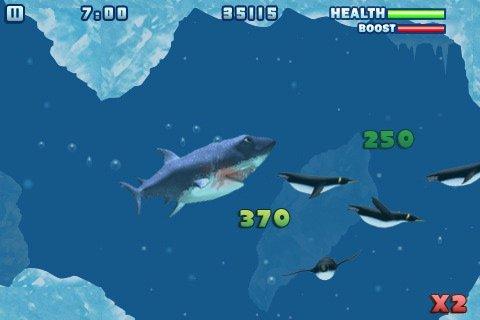 игра акула ест людей и рыб бесплатно скачать