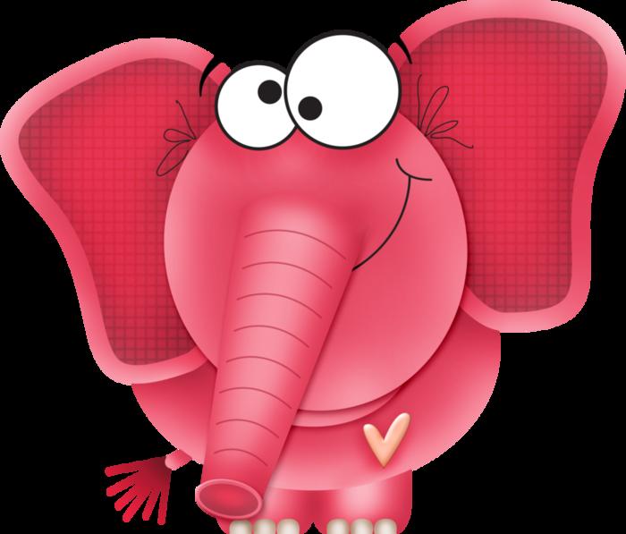 Картинки розовый слоник, день