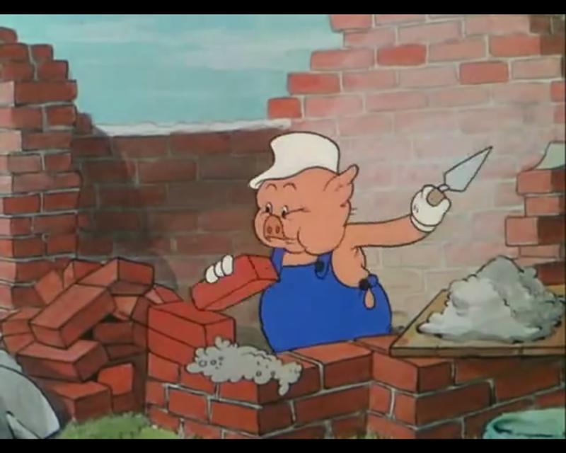свиньи строители прикольные картинки