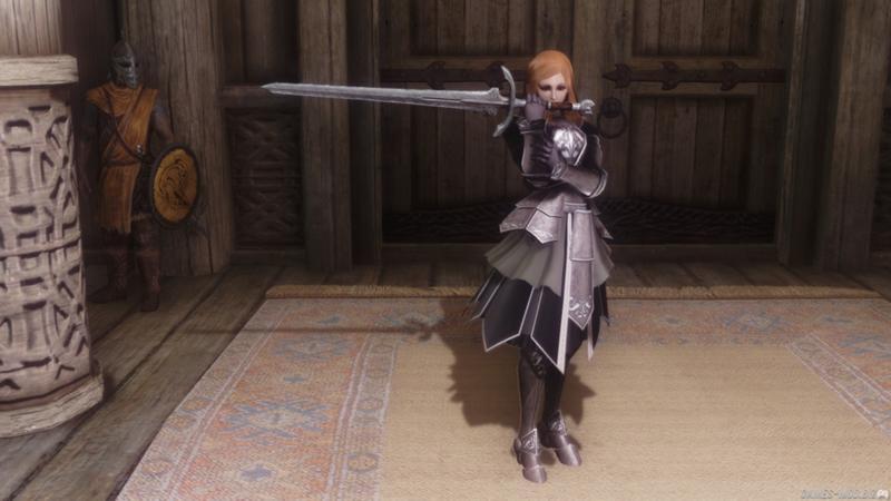 Мод стойка с мечем