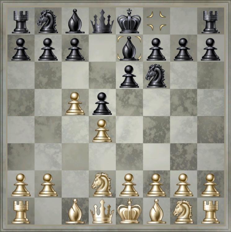 дебюты в шахматах с картинками она выступает
