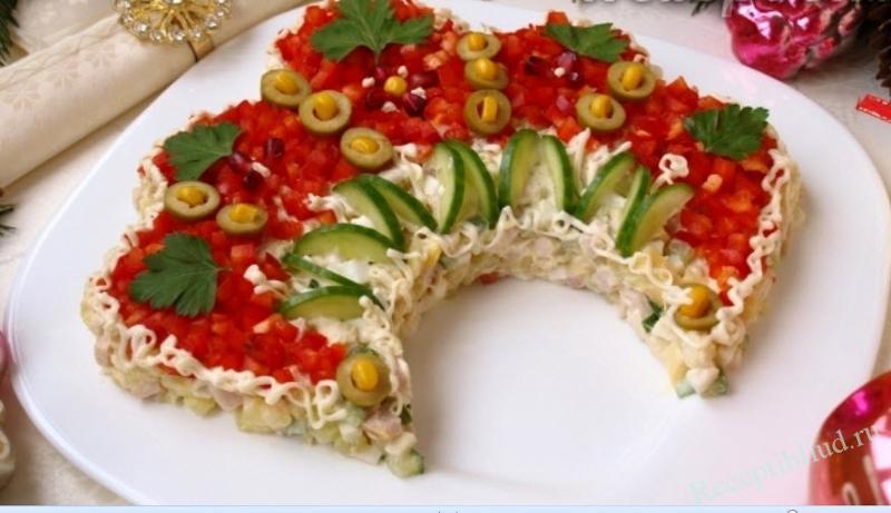 Салат русский рецепт с фото