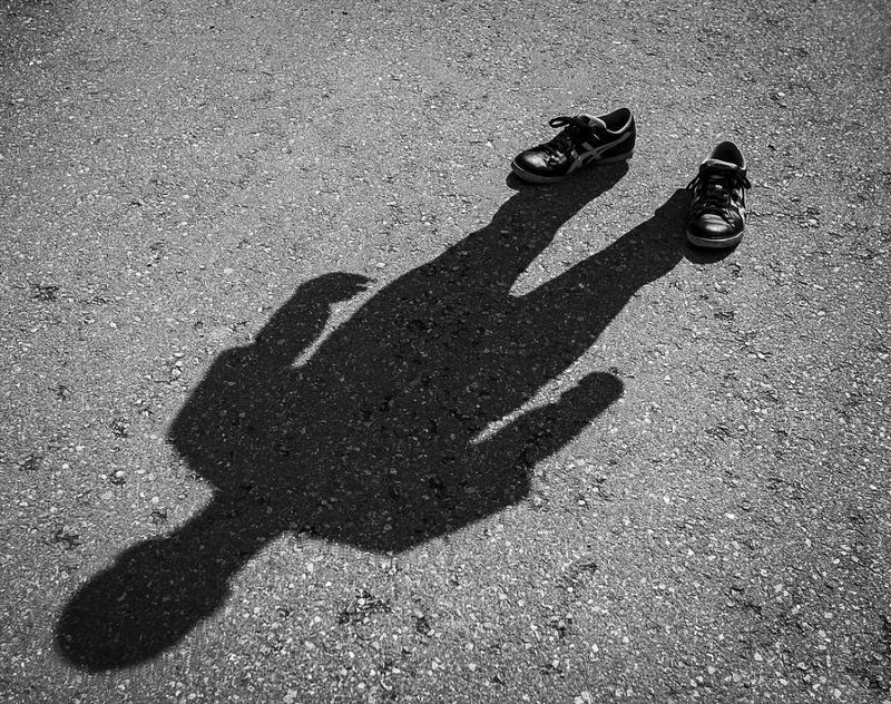 Человек в тени в картинках