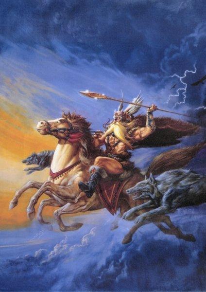 the origin of odin in norse mythology