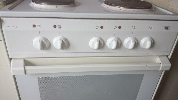 инструкция к электроплите зви 416
