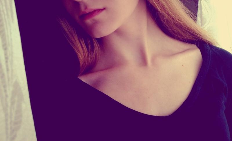 ключицы у девушки фото