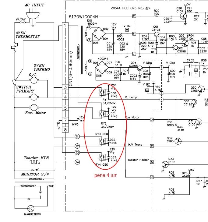 Микроволновка LG - MS-268T