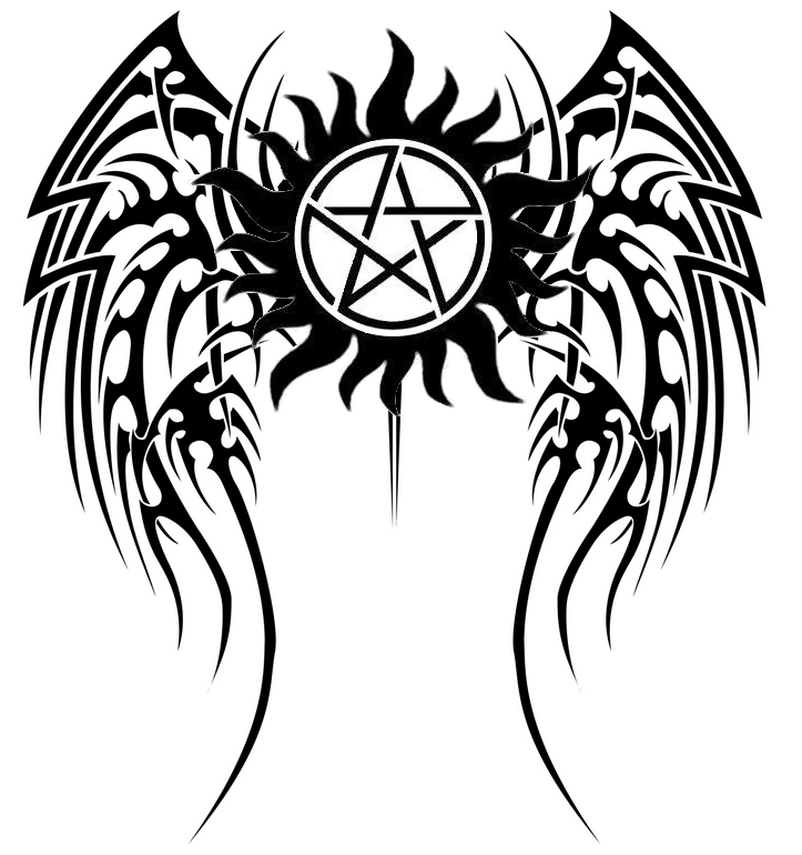 supernatural logo tattoos - 723×770