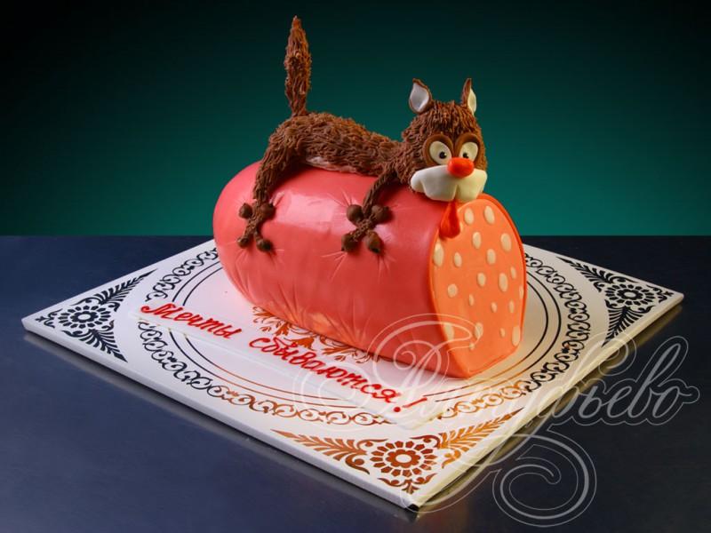 Фото торты на заказ коты