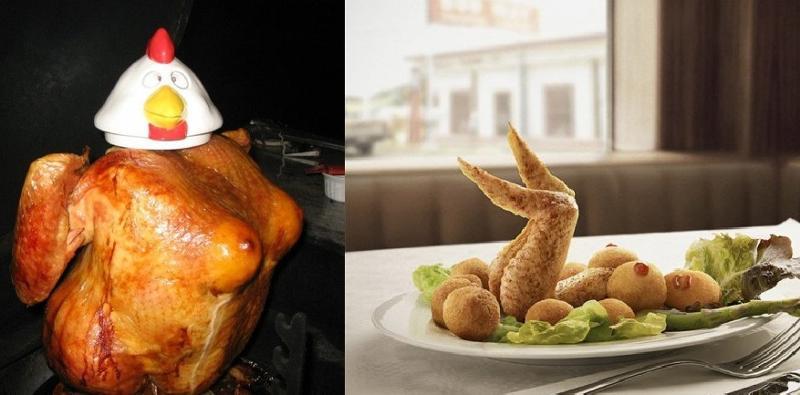 Курица гриль прикол картинка