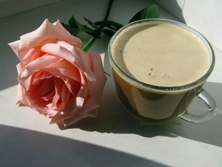 кофе с молоком картинки красивые и с розами впоследствии