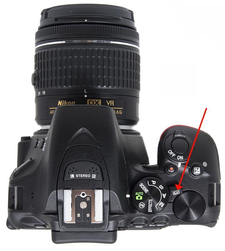 Экран на фотоаппарате показывает разные цвета