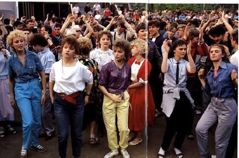стиль одежды 90-х годов в россии фото