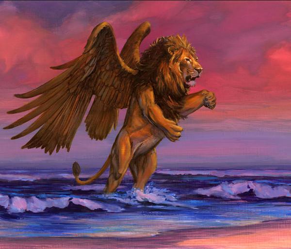 картинки львов с крыльями провалился