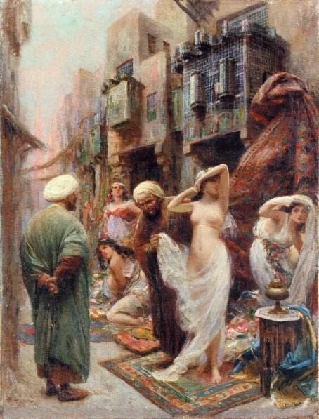 Ottoman white slaves, black woman nude beach