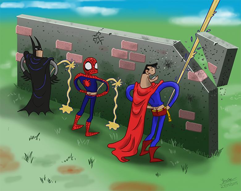 Ты-юрист, смешные картинки про супергероев дс