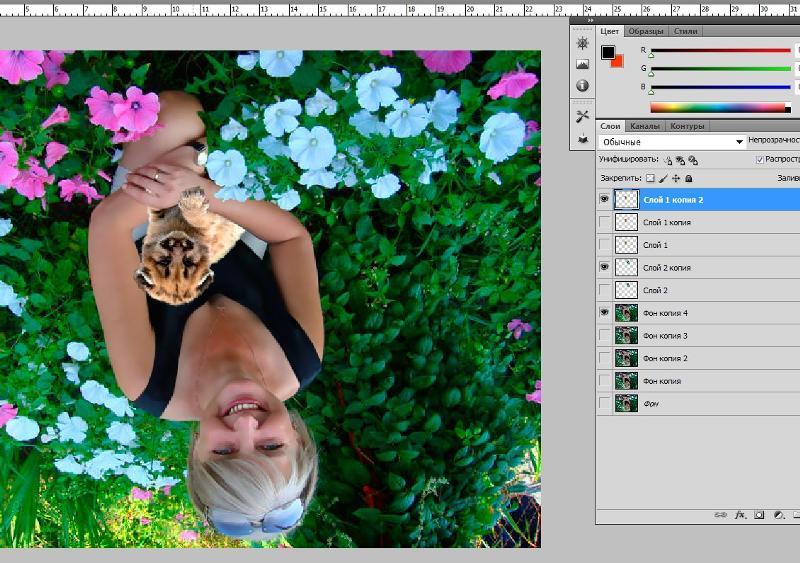 эта как повернуть изображение в редактор фотографий сказать