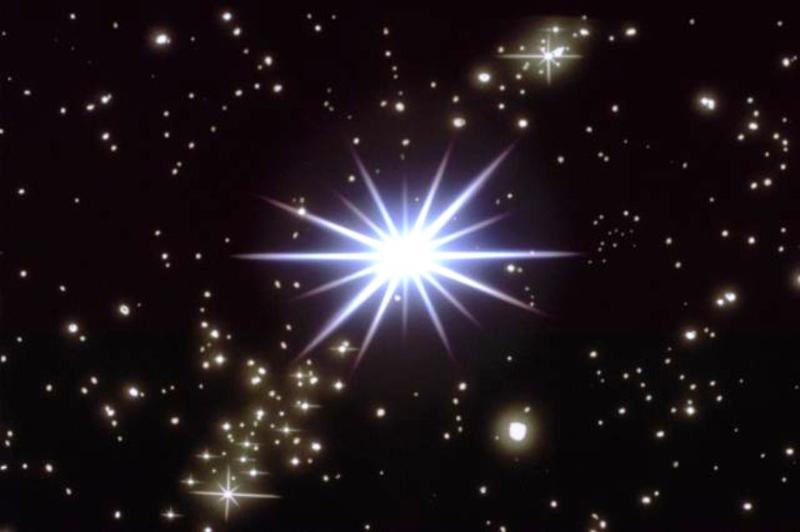 Маками, анимация звезда на небе