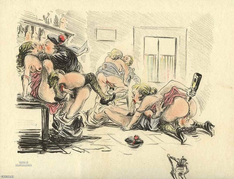 Жена секс в карикатуре развратные мамочки смотреть